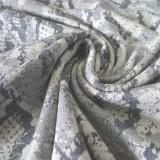 Jersey maille Python beige