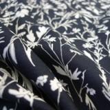 Coton Delicate Flower noir