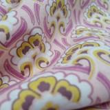 Tissu Sybil rose