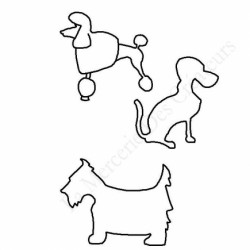 Planche dessin chien