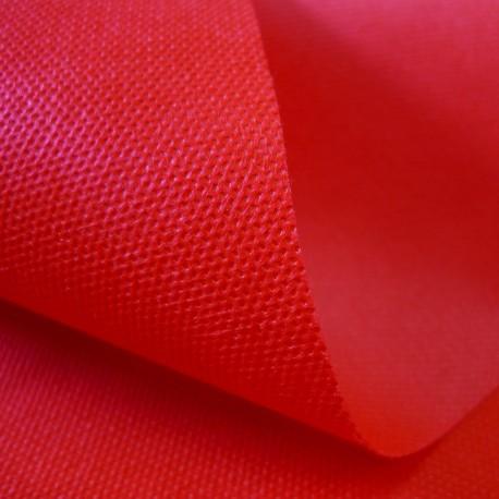 Tissu SACASAC non-tissé rouge