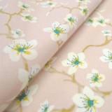 Tissu Amaretto Rose