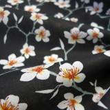 Tissu Amaretto Noir