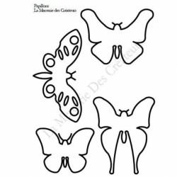 Planche dessin Papillon