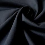 Tissu toile canevas bleu nuit