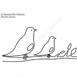 Planche dessin Oiseaux