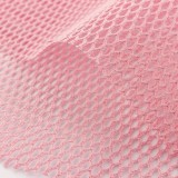Tissu filet coton bio Colors Rose bonbon