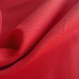 Tissu toile canevas rouge