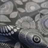 Enduit coton Popies grey