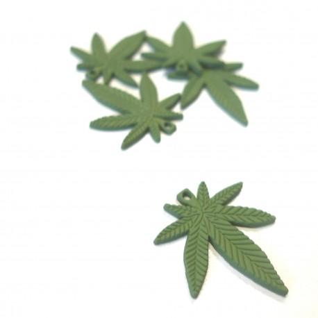 Breloque Charm Leaf
