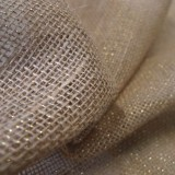Toile de jute LUREX OR - naturel