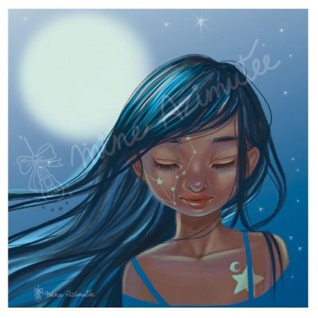 Coupon illustré Luna