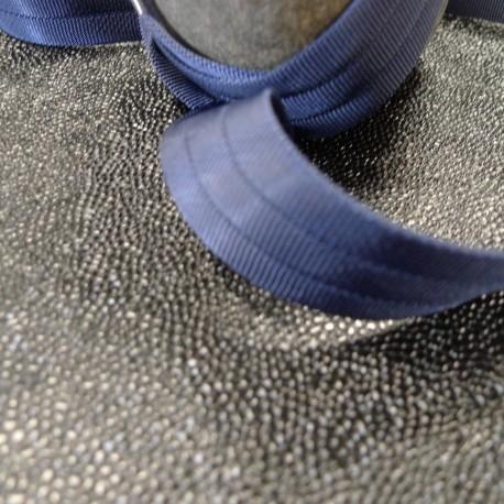 Sangle 3D gros grain marine