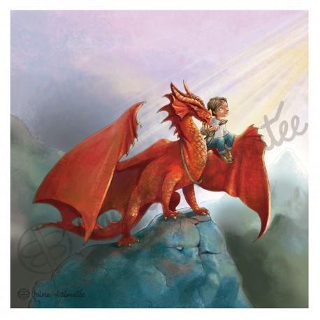 Coupon illustré Dragon