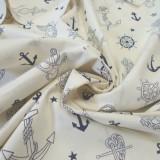Coton Anchors Ancre écru