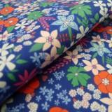 Coton Flowerette bleu