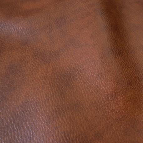 Simili cuir Prisme marron