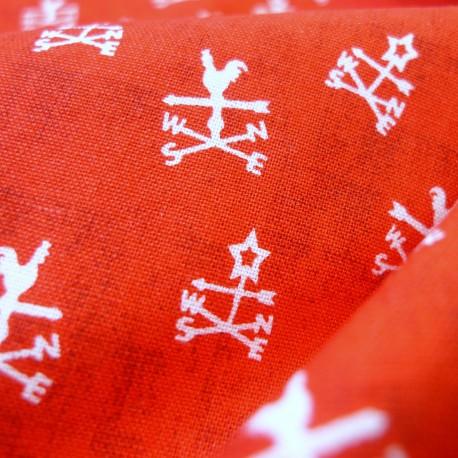 Coton Girouette rouge