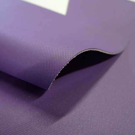 Simili cuir Bellissimo violet irisé