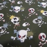 Coton Skull Game kaki