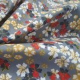 Tissu Kobe Sakura gris