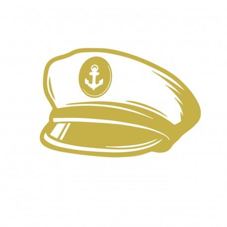 Flex casquette marin or