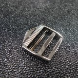 Boucle réglage design nickel