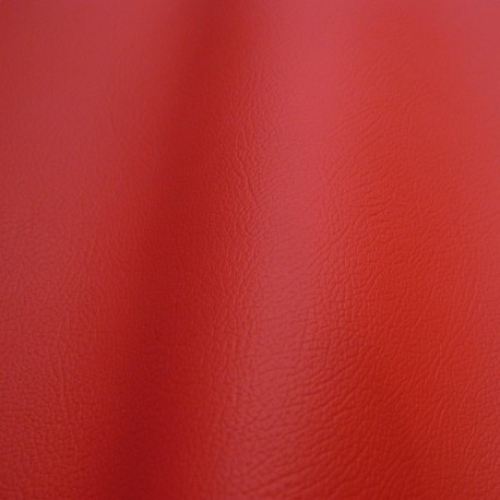 Simili cuir Carlo rouge