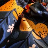 Coton Canevas Naranja Blue