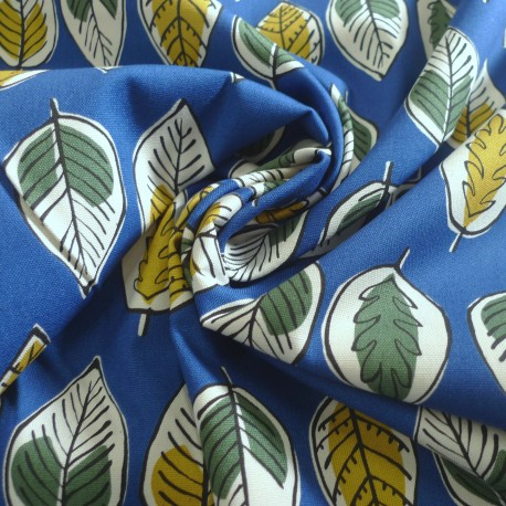 Coton Canevas Jambo Blue