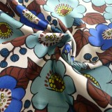 Coton Canevas Jambo Flowers