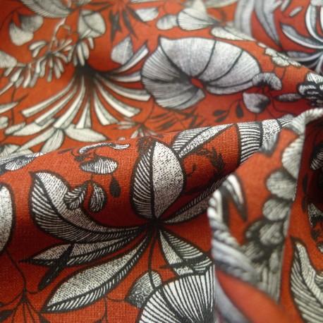 Tissu Sumatra Tomette