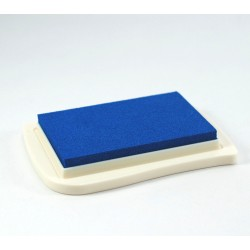 Encre textile bleue