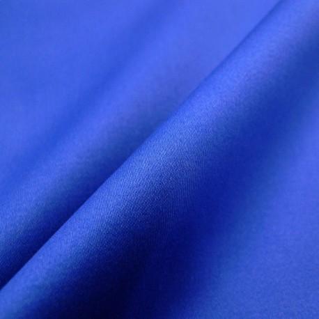 Satin de coton bleu roi Mona