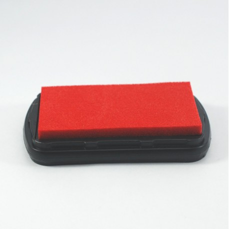 Encre textile rouge