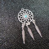 Breloque Dream Catcher blue