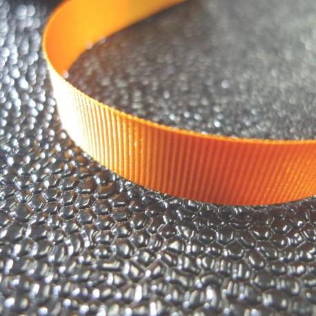 Gros grain 10 mm orange