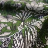 Tissu Sumatra vert