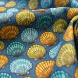 Tissu Sea Shells