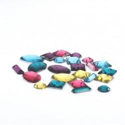 Cabochons bijoux multicolor