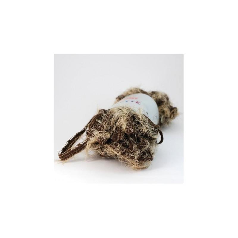 Echeveau écharpe fourrure beige - Tricot-Crochet dd22bac19bd
