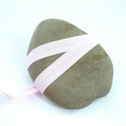 Biais polycoton coton rose clair