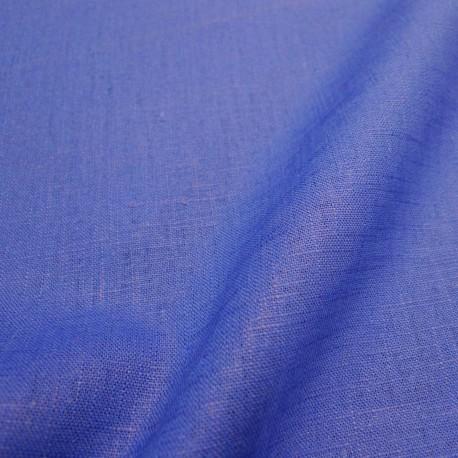 Lin lavé bleu roi
