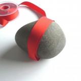 Galon gros grain rouge 20 mm