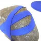 Sergé coton bleu roi 10 mm