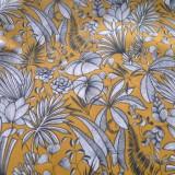 Tissu Sumatra safran