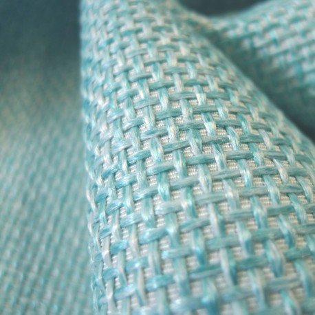 Toile Sysal turquoise