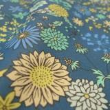 Enduit coton Jachère fleurie