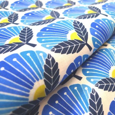 Coton Spring day Plum blue