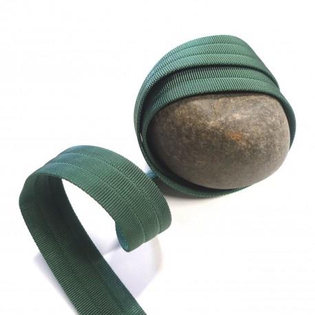 Sangle 3D gros grain verte